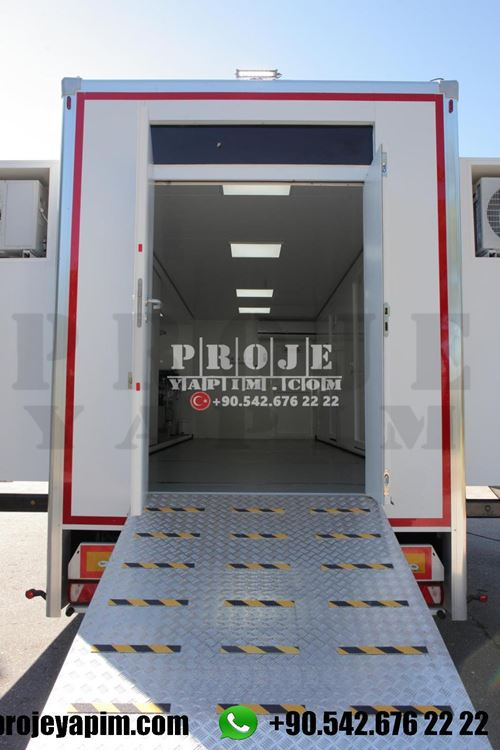 mobile clinic truck trailer
